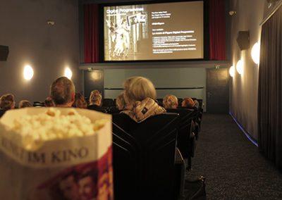 Opernklänge zu Popcornduft