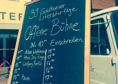 Solothurner Literaturtage reloaded