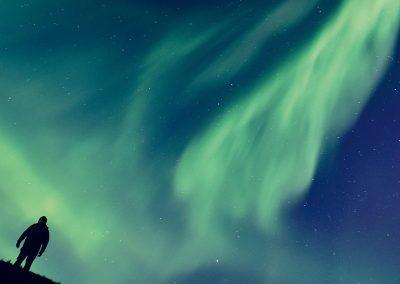 Polarlicht-inspirierte Literatur und Musik