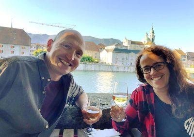 zmitz im Sommer: Auf einen Soave mit Lucilia und Fabian von zmitz